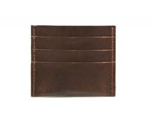 Slim Leather Credit Card Wallet