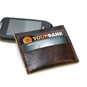 Skinny Leather Wallet