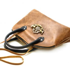 Black and Tan Purse