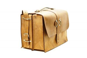 Large Leather Satchel