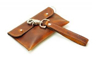 Leather Phone Sleeve