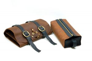 Toiletry Roll and Dopp Kit