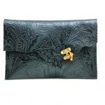 OOAK Clutch Leather