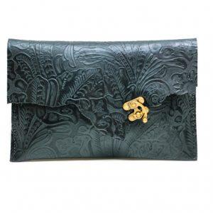 OOAK Clutch Leather
