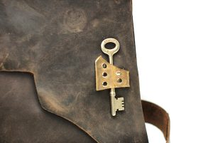 Skeleton Key Accent Bag