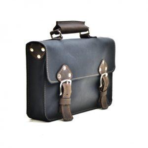 Mini Leather Briefcase