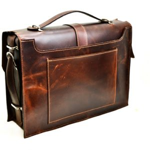 custom leather briefcase
