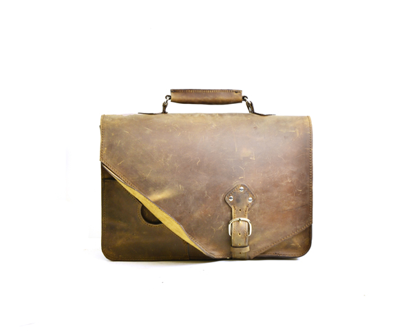 leather carryall