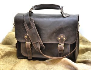 Rustic Leather Man Bag