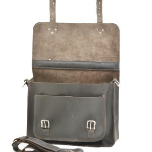 Rustic Leather Briefcase