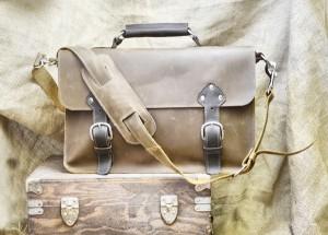 Handmade Leather Satchel
