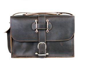 Saddleback Style Leather Briefcase