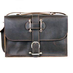 Saddleback Style Leather Briefcase