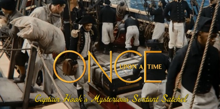 Once Upon a Time Captain Hook Sextant Satchel