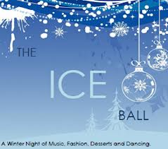Divina Denuevo on the Runway at the Ice Ball Charity Fundraiser